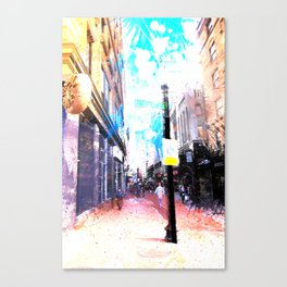 Tremont Street, Boston Canvas Print