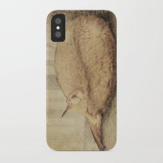 A Quiet Place (sepia option) iPhone Case