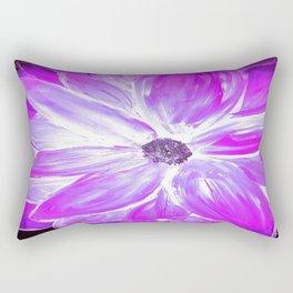 Electric Purple Rectangular Pillow