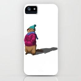 Groundhog Shadow iPhone Case