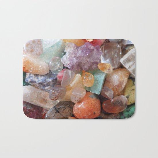 Fiery gems for you Bath Mat