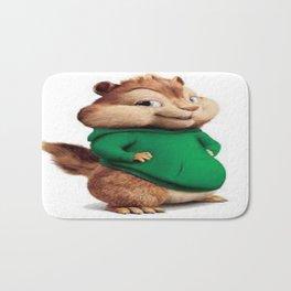 Theodore the cutes chipmunk Bath Mat