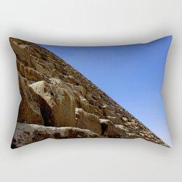 Side of a Pyramid at Giza Rectangular Pillow