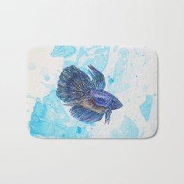 Japanese Fighting Fish Bath Mat