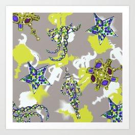 Star Jewel Art Print