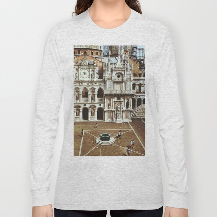 Doge's Palace Courtyard Long Sleeve T-shirt