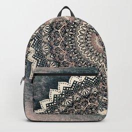 WARM WINTER MANDALA Backpack