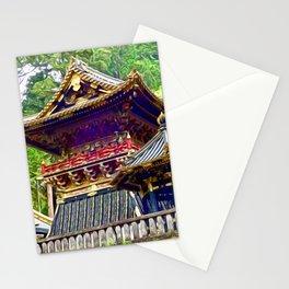 Tosho-gu Shrine, Nikko, Japan Stationery Cards
