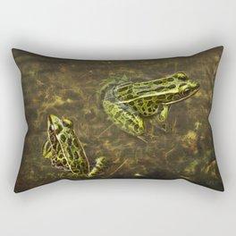 Being Green Rectangular Pillow