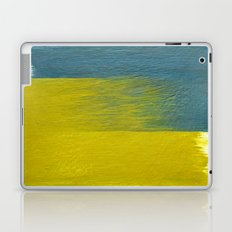 clashing brushstrokes Laptop & iPad Skin