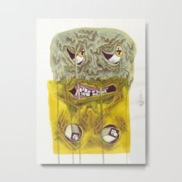 UNITED COLORS Metal Print