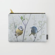 2 birds in tree Carry-All Pouch