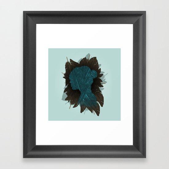 Ornithology. Framed Art Print
