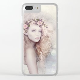 Elvish Beauty Clear iPhone Case