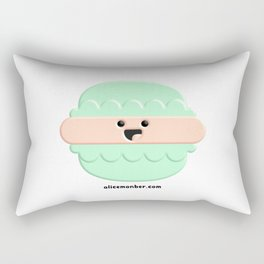 Cute Macaron Rectangular Pillow