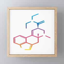 "Great Laboratory Tee For Scientists ""Genetics"" T-shirt Design Flask Experiments Sci Chemist Framed Mini Art Print"