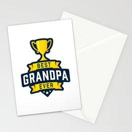 Best Grandpa Ever Stationery Cards