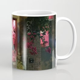 Pink Rhino Salon #UrbanArt #Photography #StreetScene Coffee Mug