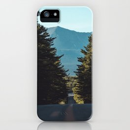 Mountain drives iPhone Case