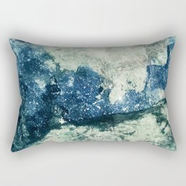 Azurite Waves Rectangular Pillow