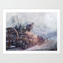 Mobile Inquisition Art Print