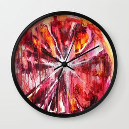 Henry Miller Made Me Do It Wall Clock