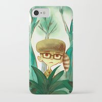 moonrise kingdom iPhone & iPod Cases featuring Moonrise Kingdom by Van Huynh
