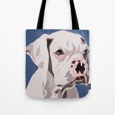 WhiteDog Tote Bag