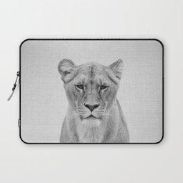 Lioness - Black & White Laptop Sleeve