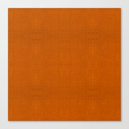 """Orange Burlap Texture (Pattern)"" Canvas Print"
