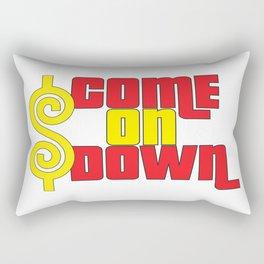 Come On Down Rectangular Pillow