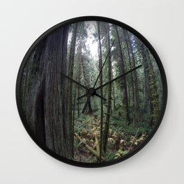 Go pro forest Canada Wall Clock