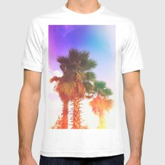 Palms Mens Fitted Tee White MEDIUM