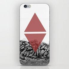 red walls iPhone & iPod Skin