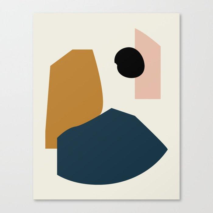 Shape study #1 - Lola Collection Canvas Print