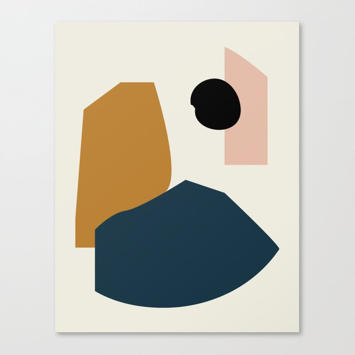 Shape study #1 - Lola Collection Leinwanddruck