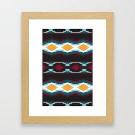 Native American Inspired Design Framed Art Print