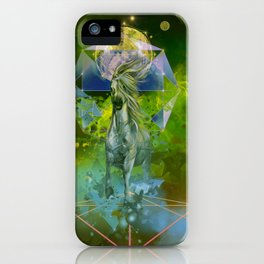 galaxy horse iPhone Case