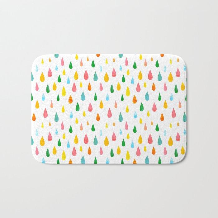 Happy Rain Bath Mat