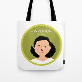 An Inventor like Hedy Lamarr Tote Bag
