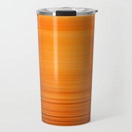 Sunset on the Water-Deep Orange Travel Mug