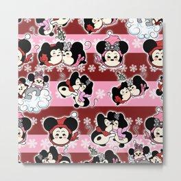Tsum tsum pattern Metal Print