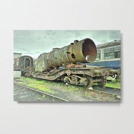Warwell Boiler Metal Print