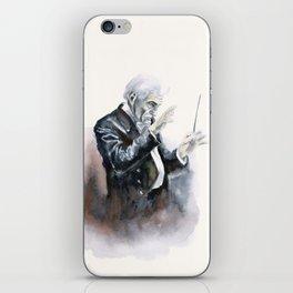 Leonard Bernstein Portrait iPhone Skin