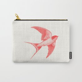 Barn Swallow (red) Carry-All Pouch