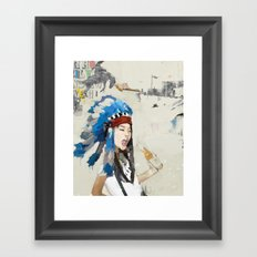 Yippee! Framed Art Print