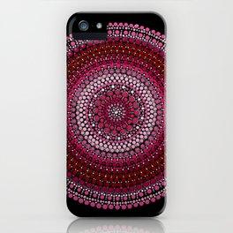 All Pink Mandala iPhone Case
