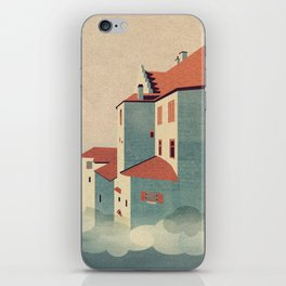 Castle in the Sky iPhone Skin