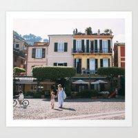 Porto Fino Afternoon Art Print