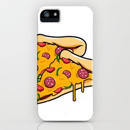 Whats better than a pizza? two iPhone Case